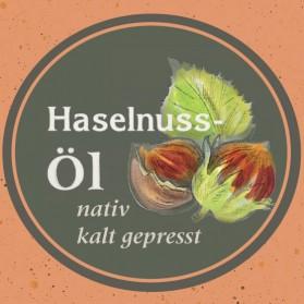 Haselnussöl von der Ölmühle Garting aus Bayern