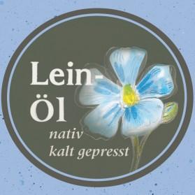 Leinöl kaltgepresst und nativ aus Bayern