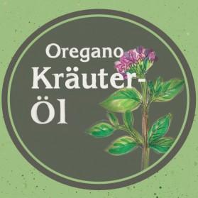 Oregano Kräuteröl von der Ölmühle Garting aus Bayern