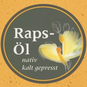 Rapsöl, kaltgepresst und nativ aus Bayern