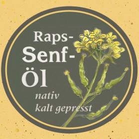 Raps-Senföl von der Ölmühle Garting aus Bayern