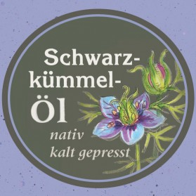 Schwarzkümmelöl von der Ölmühle Garting aus Bayern