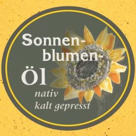 Sonnenblumenöl von der Ölmühle Garting aus Bayern