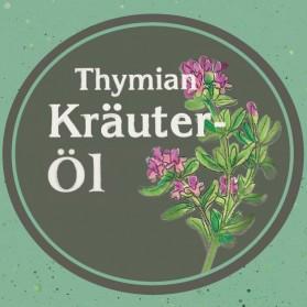 Thymian Kräuteröl von der Ölmühle Garting aus Bayern
