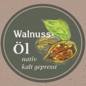 Walnussöl von der Ölmühle Garting aus Bayern