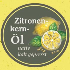Zitronenkernöl der Ölmühle Garting