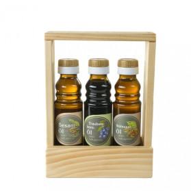 Sesamöl, Traubenkernöl, Walnussöl - Geschenkset
