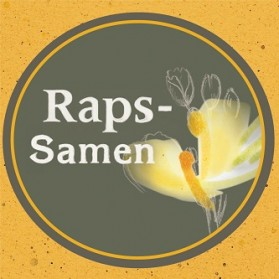 Rapssamen (Rapskörner), gereinigt, getrocknet
