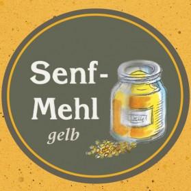 Senfmehl gelb der Ölmühle Garting in Bayern