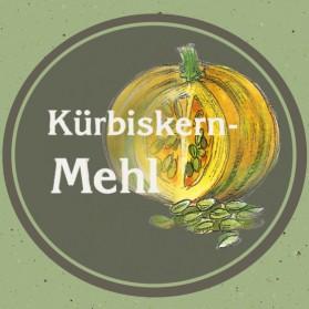 Kürbiskernmehl der Ölmühle Garting in Oberbayern