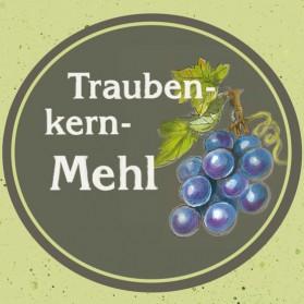Traubenkernmehl der Ölmühle Garting in Oberbayern