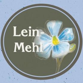 Leinmehl der Ölmühle Garting in Oberbayern