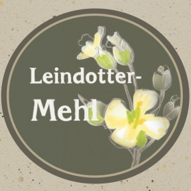 Leindottermehl der Ölmühle Garting in Oberbayern