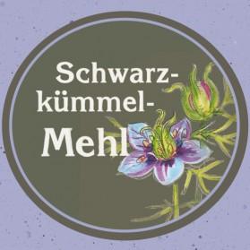 Schwarzkümmelmehl der Ölmühle Garting in Bayern