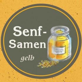 Senfsamen gelb von der Ölmühle Garting in Bayern
