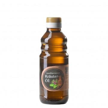 Mediterranes Kräuteröl von der Ölmühle Garting aus Bayern