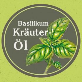 Kräuteröl Basilikum, kaltgepresst und nativ