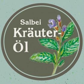 Kräuteröl Salbei, kaltgepresst und nativ
