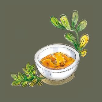 Curry Kräuteröl Illus